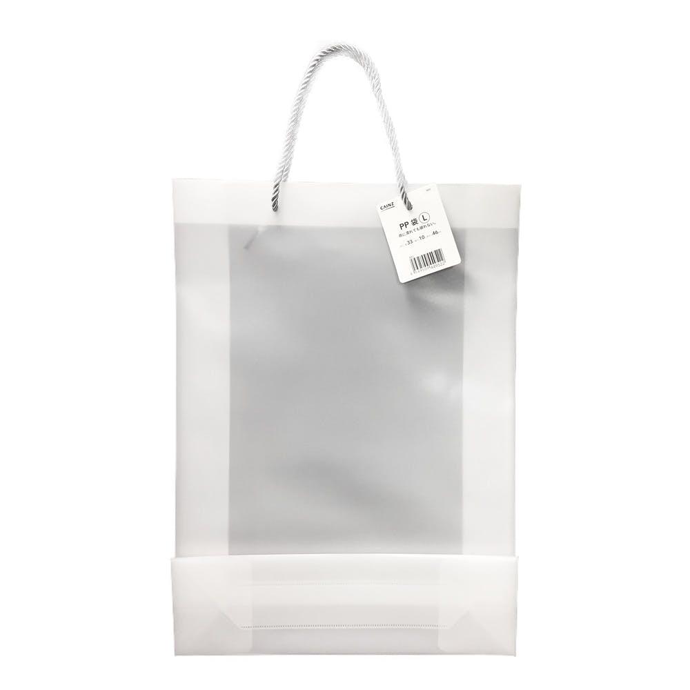PP袋 L ホワイト, , product