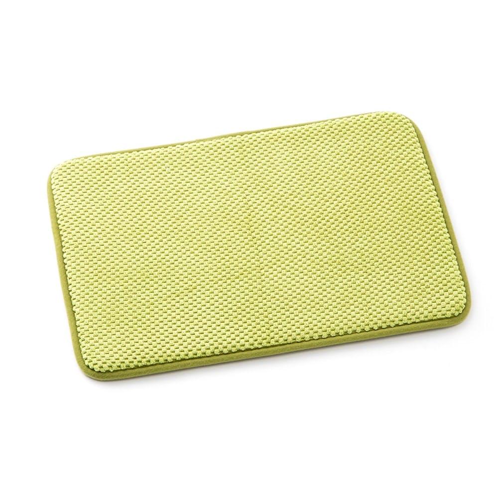 低反発ふんわりバスマットミニ 35×50cm グリーン, , product