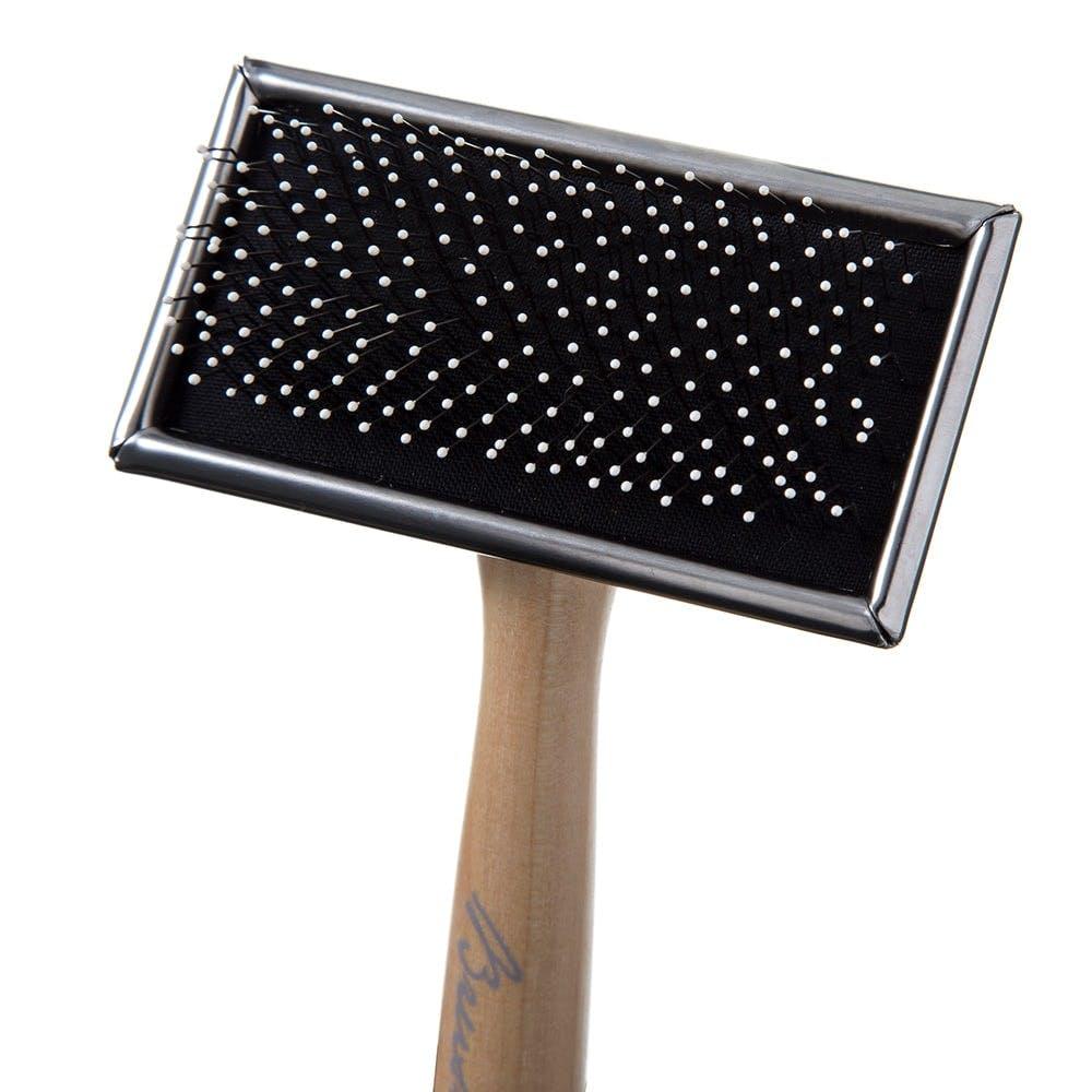 木柄スリッカーブラシ S, , product