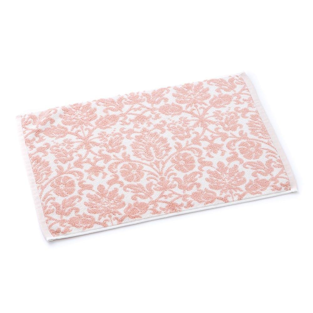 【数量限定】タオルバスマット ウィンディア ピンク 45×65cm, , product