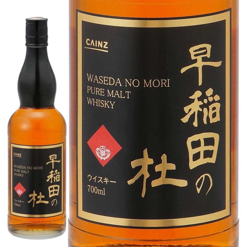 ピュアモルトウィスキー 早稲田の杜 700ml, , product