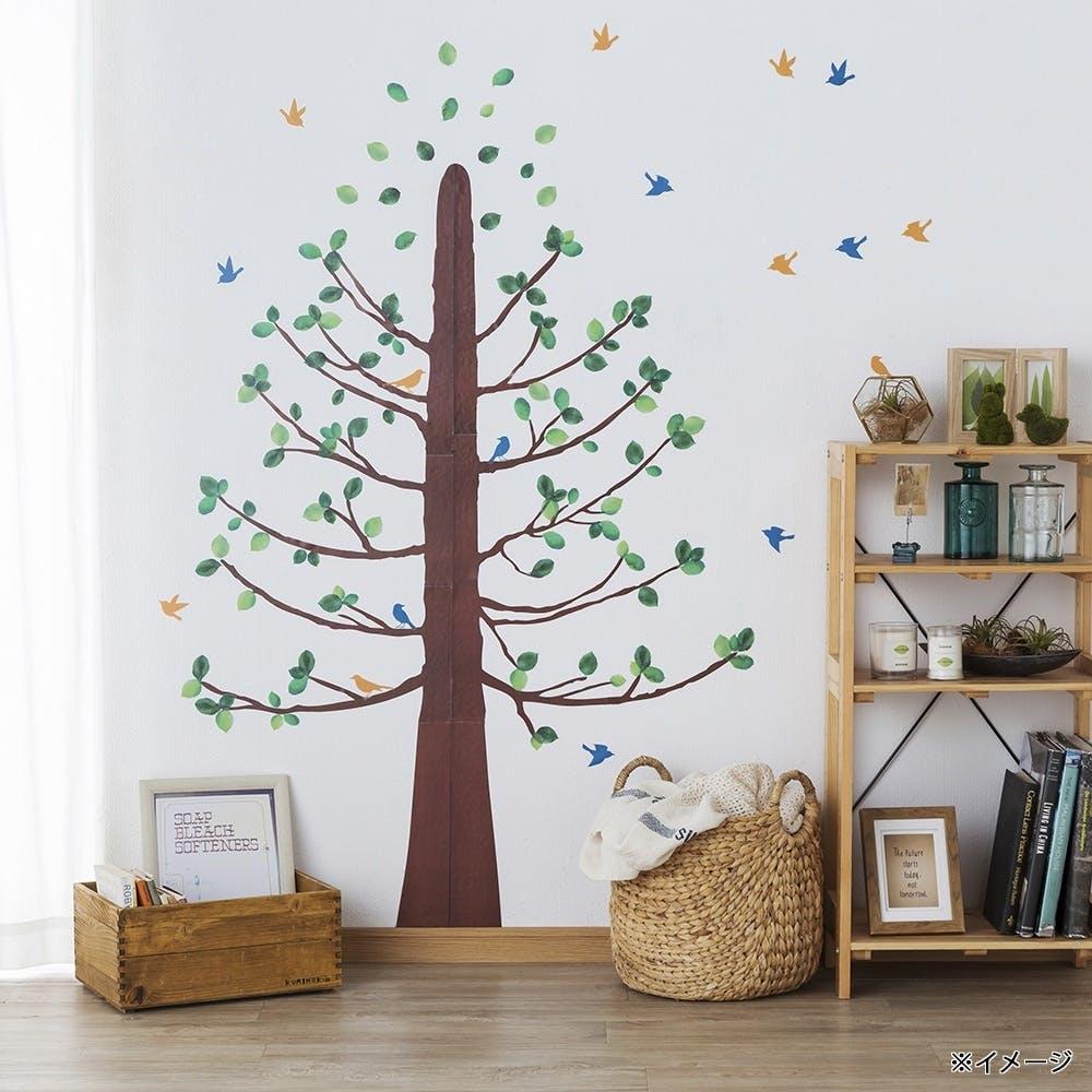【店舗限定】ウォールステッカー 鳥と木, , product