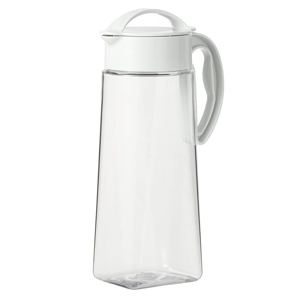 縦にも横にも置ける冷水筒 2.1L ホワイト, , product