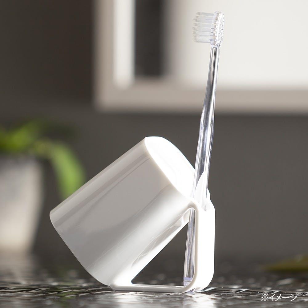 カインズ 抗菌 歯ブラシスタンドコップ ホワイト, , product