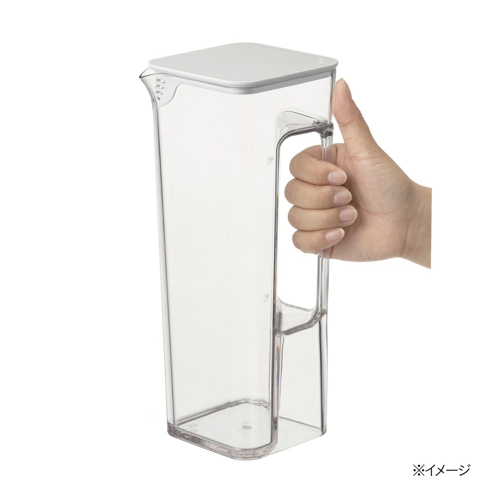 取っ手が邪魔にならない 冷水筒 1.2L, , product