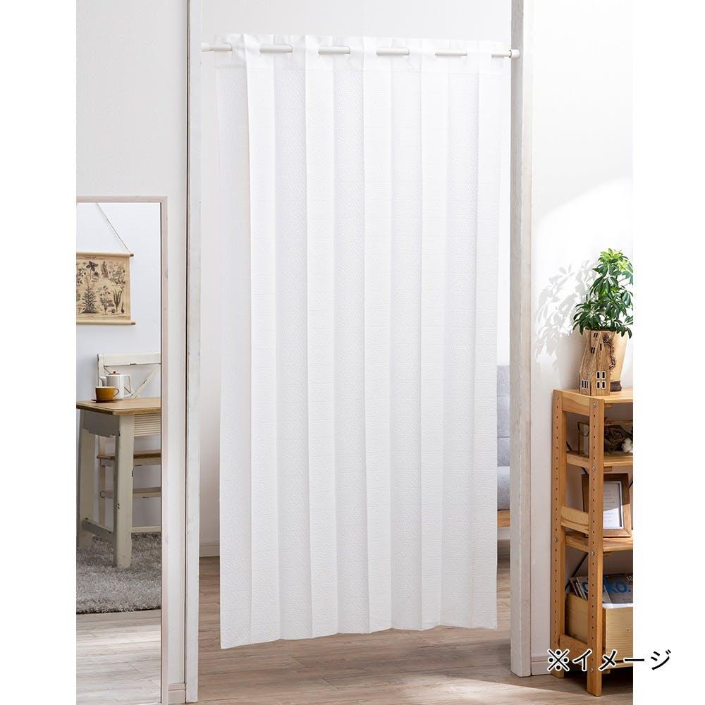 幅も高さも調整間仕切りカーテン プレーン ホワイト 180, , product