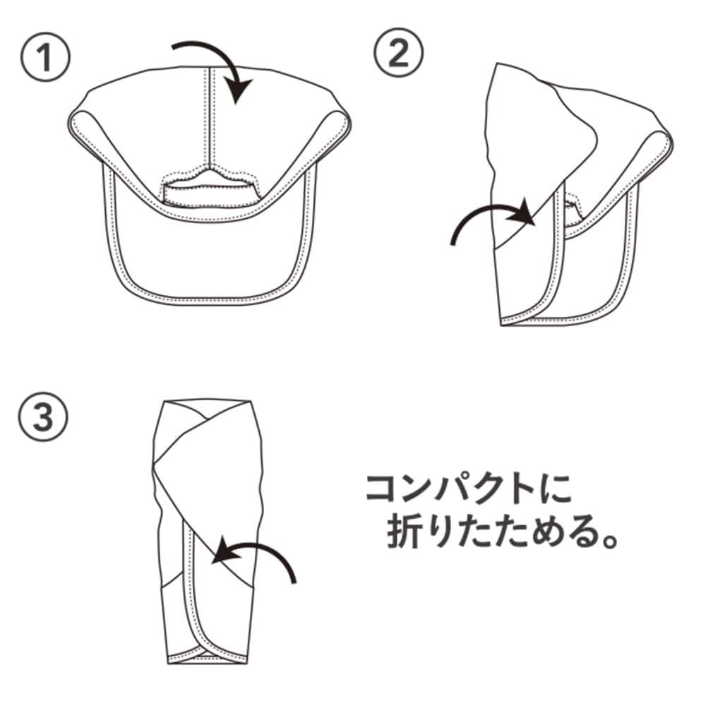 折りたたみキャップ ブラック, , product