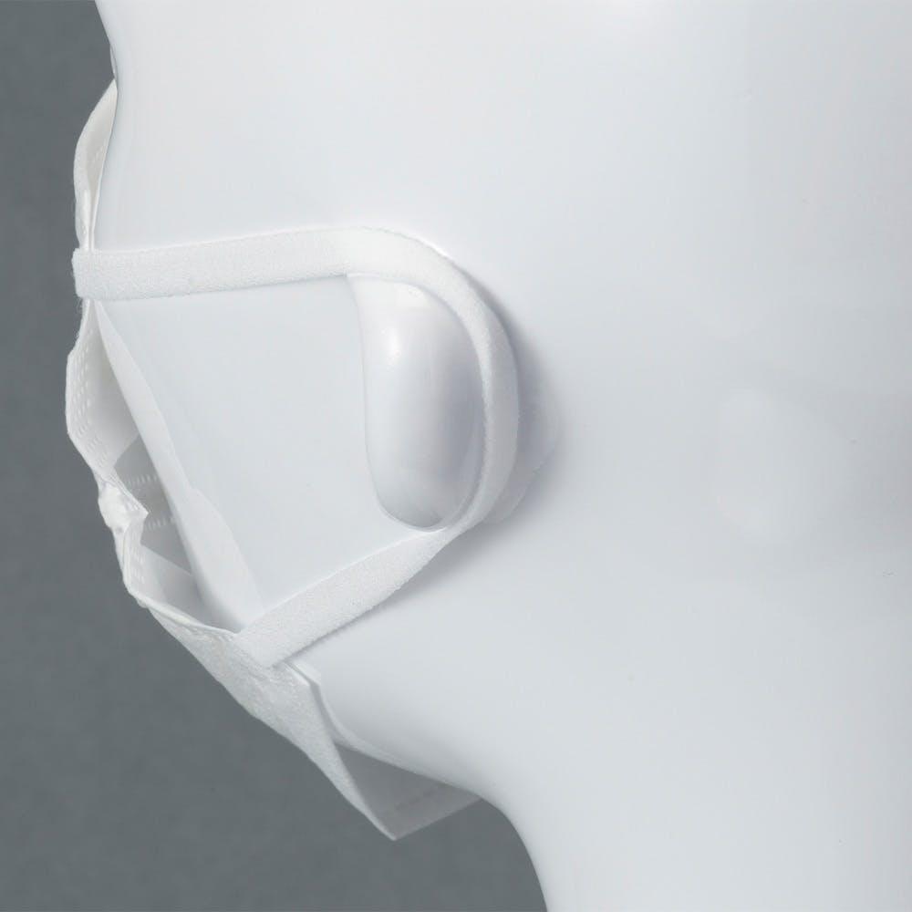 高機能不織布4層構造マスク やや小さめ 個包装 30枚, , product