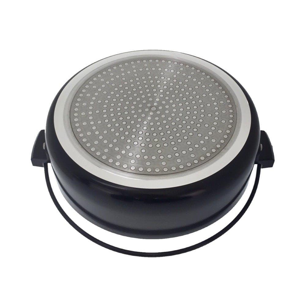 IH対応 ガラス蓋付 すき焼鍋 20cm, , product