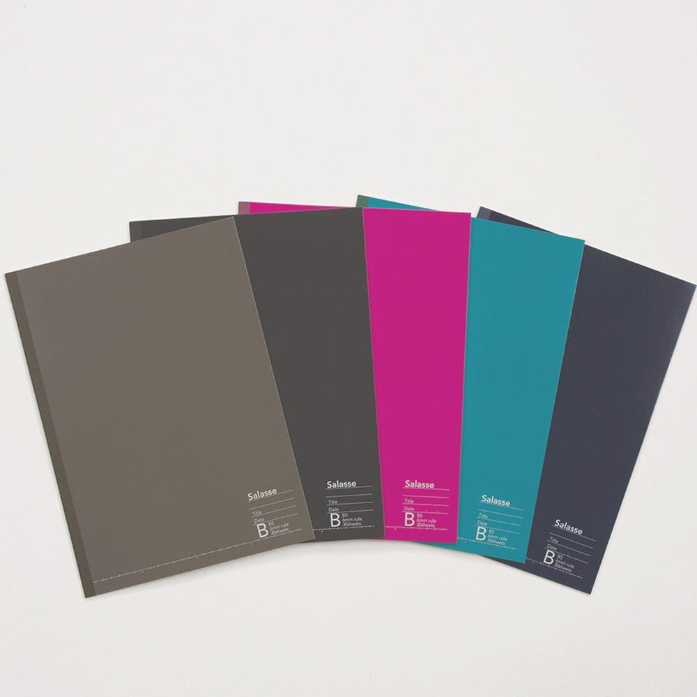 Salasse サラッセ ノートブック 5冊パック B5 30枚 B罫, , product