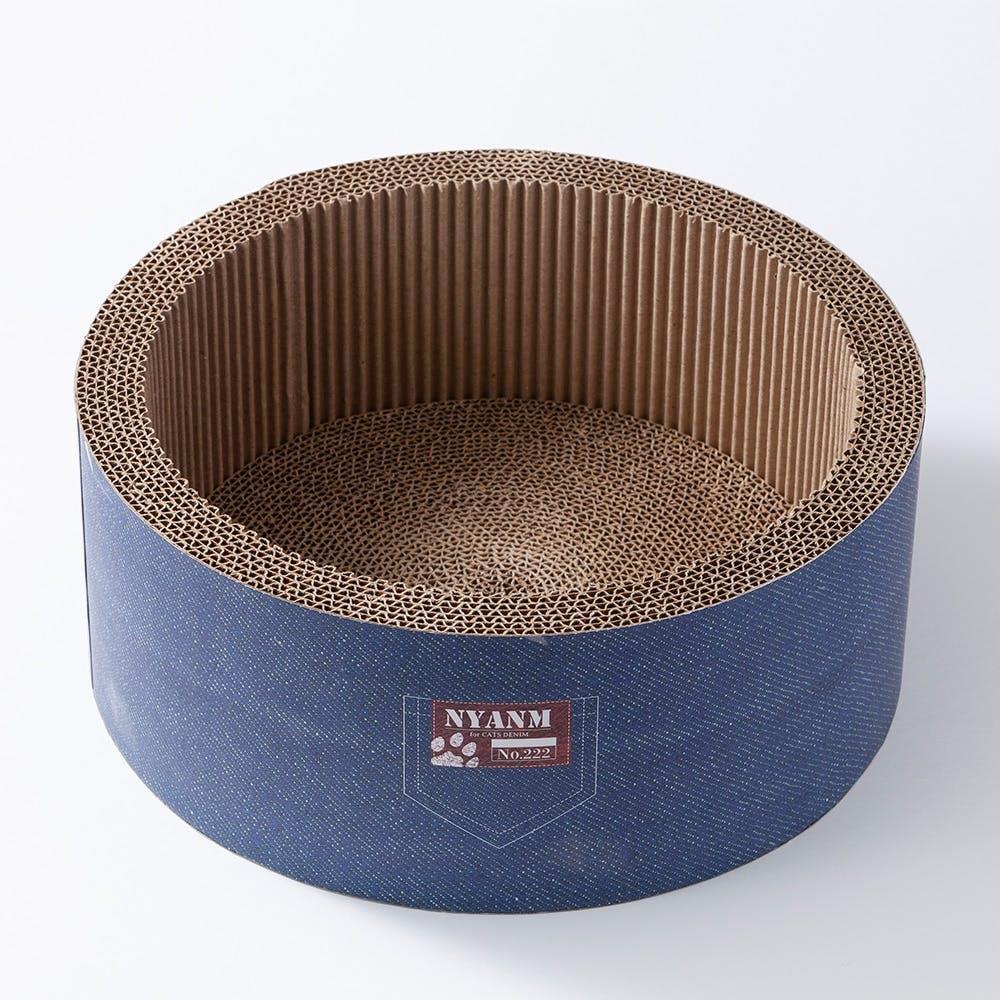 サークルスタイルスクラッチャー デニム, , product