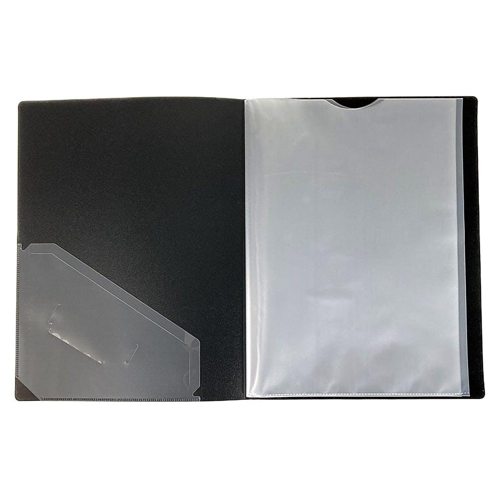 取り出しやすいクリアブック A4 10P BK, , product