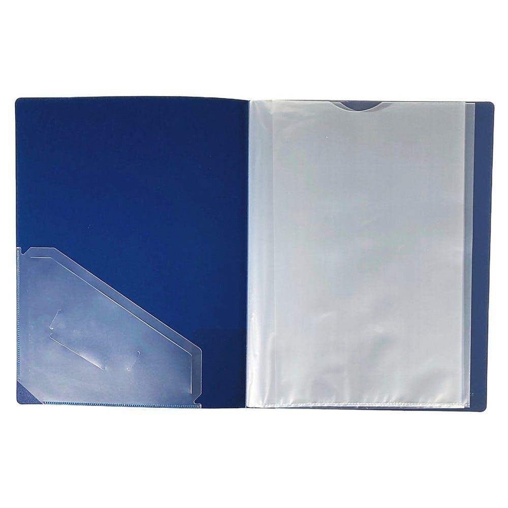 取り出しやすいクリアブック A4 10P BL, , product