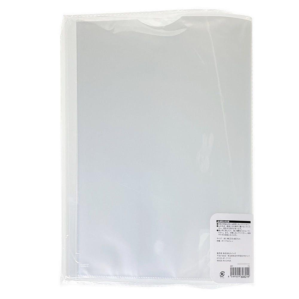 クリアブック A4 10P クリア, , product