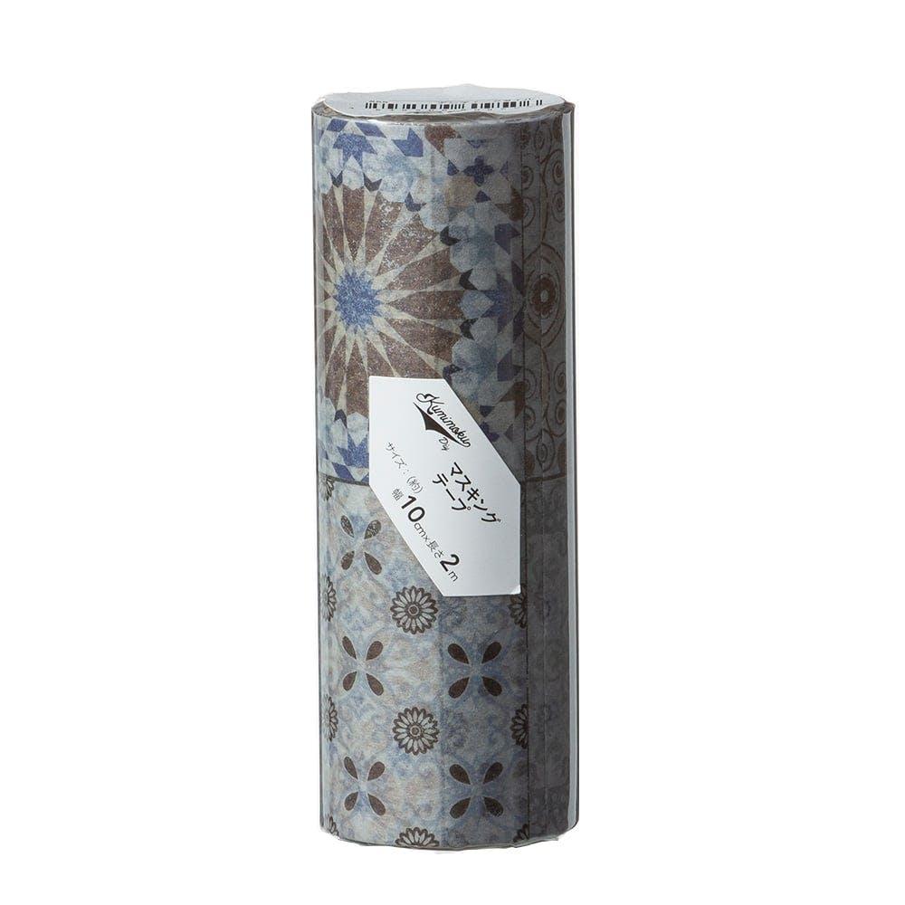 Kumimoku マスキングテープ アンティークタイル 10cm×2m, , product
