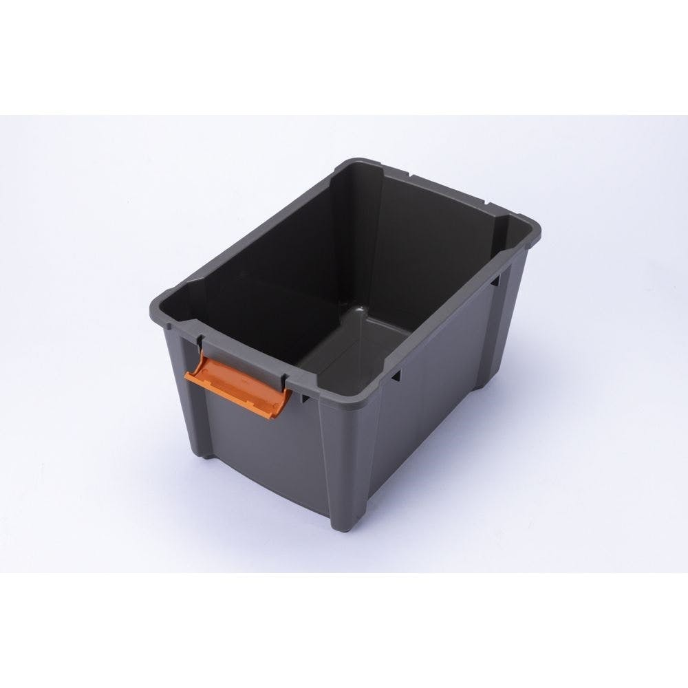 Kumimoku バックル付きストッカー 深型 グリーングレー, , product