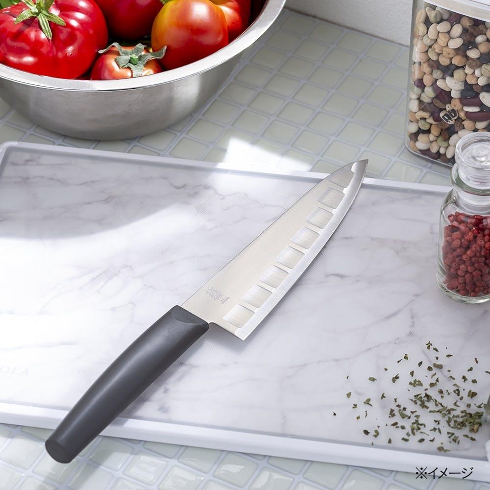 牛刀包丁 両面ディンプル 18cm, , product