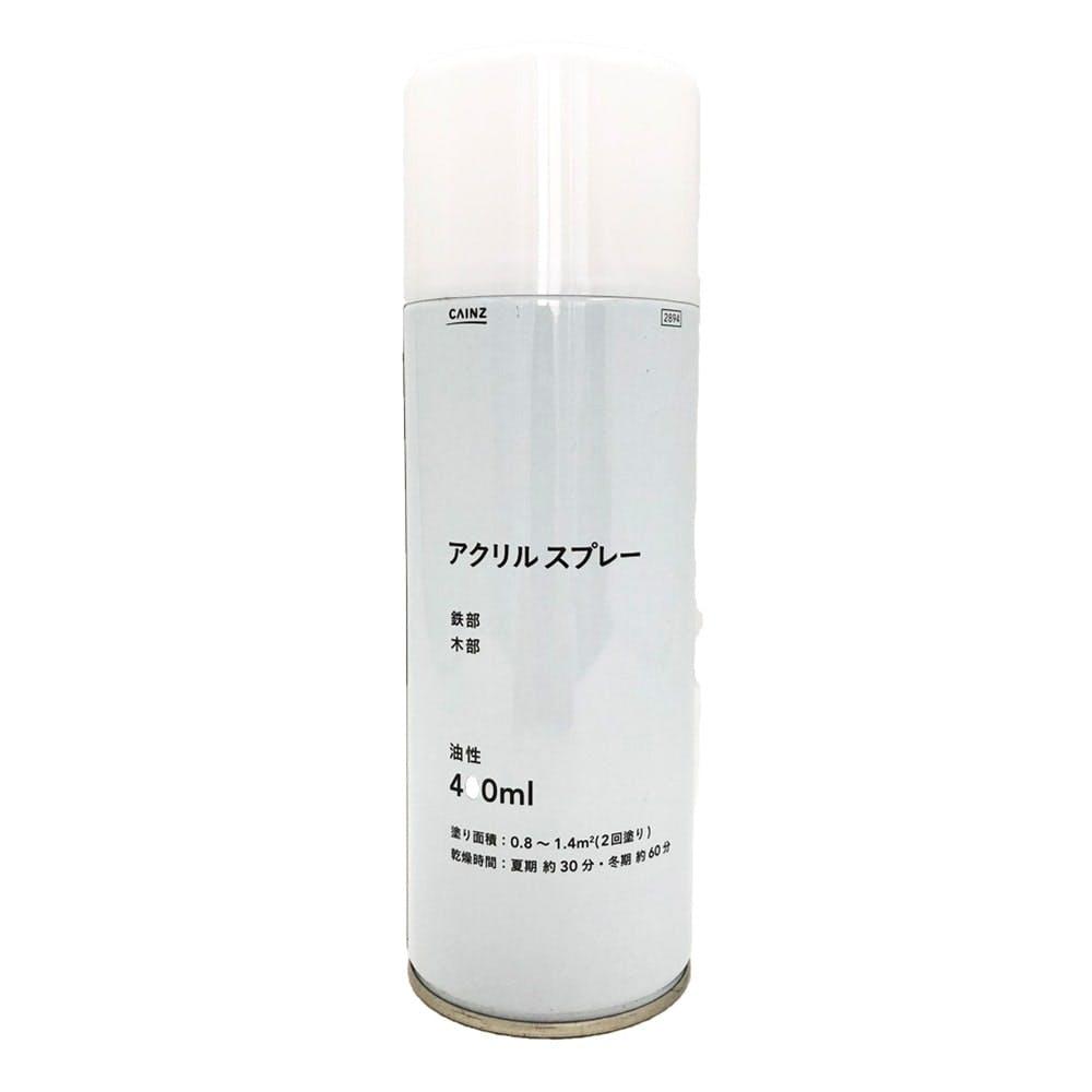 アクリルスプレー400ml ホワイト, , product