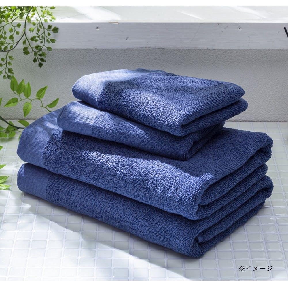 【数量限定】毛羽落ちが少なく丈夫なバスタオル ブルー, , product