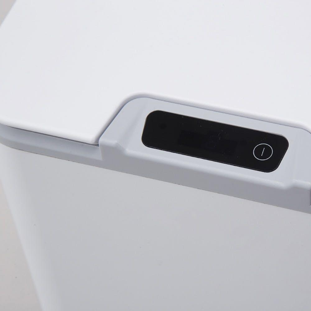 センサーで自動開閉するくず入れ10L ホワイト, , product
