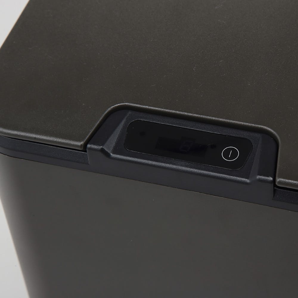 センサーで自動開閉するくず入れ10L ブラック, , product