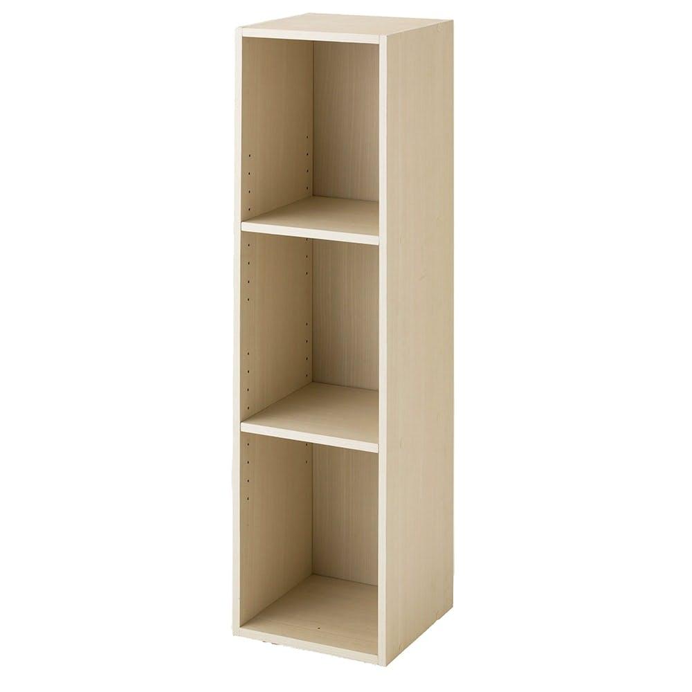 スリム収納ボックスA4 3段 ホワイト, , product