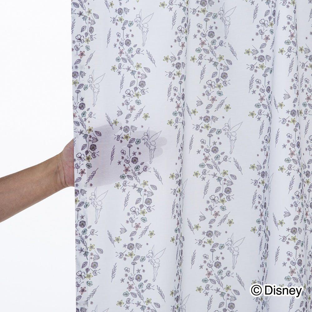 ティンカーベル 100×198cm 2枚組 レースカーテン【別送品】, , product
