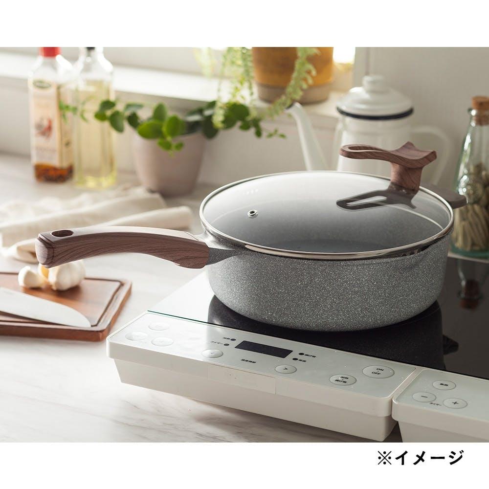 【店舗取り置き限定・数量限定】ストーンマーブルマルチパン 24cm, , product