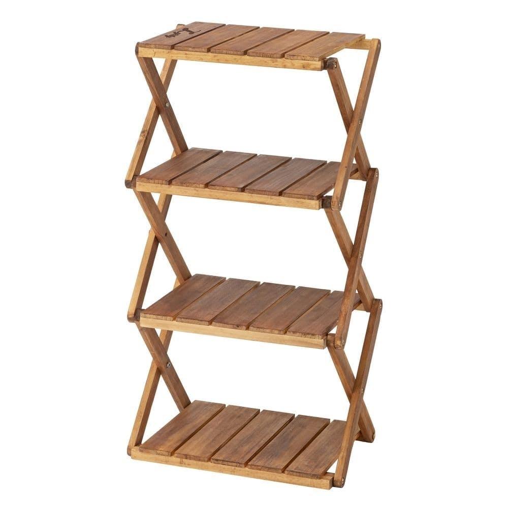 【店舗限定】リフティー 木製折りたたみラック 4段 20, , product