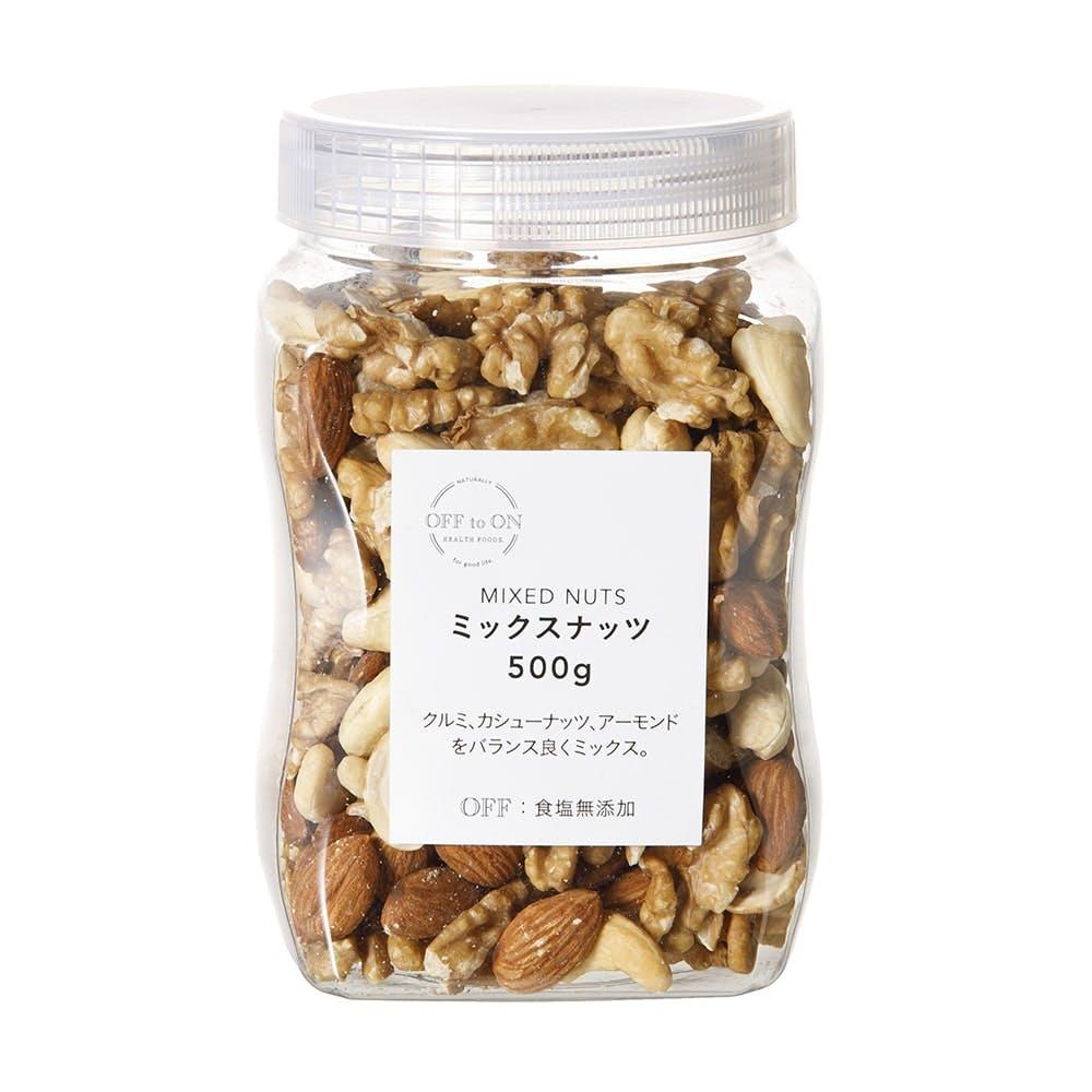 食塩無添加 ミックスナッツ 大容量 500g, , product