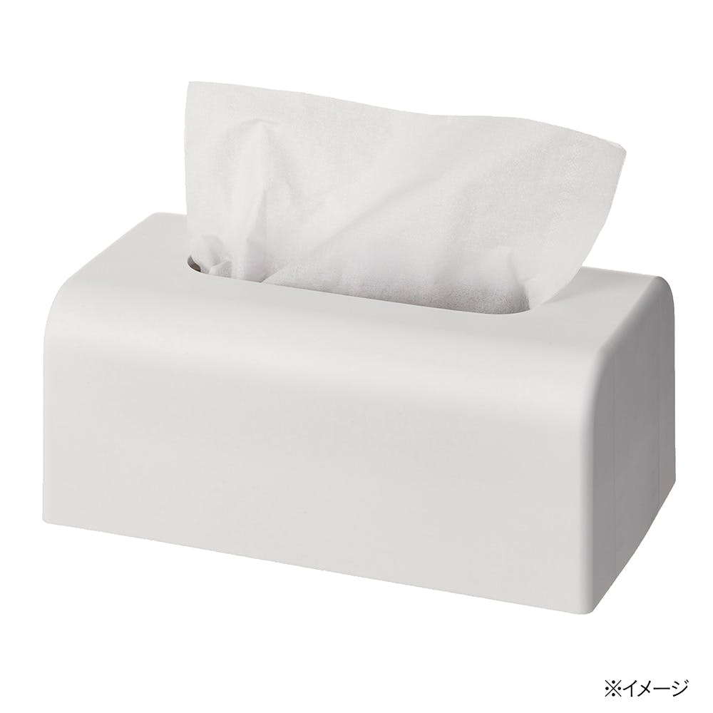 CAINZ 最後までしっかり使えるソフトパックティシューケース ホワイト, , product