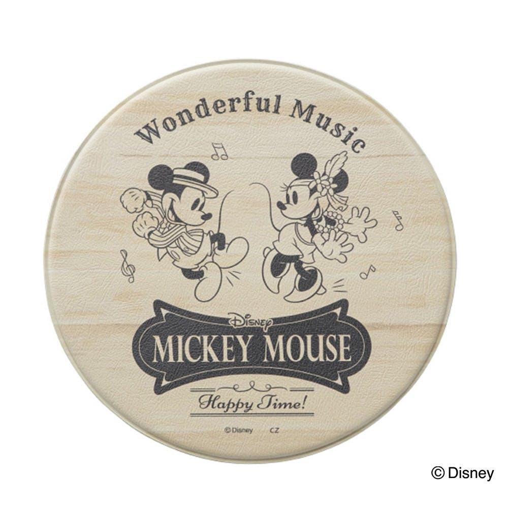 防炎・抗菌 サッと拭けるPVCマット ミッキーマウス/ベージュ, , product