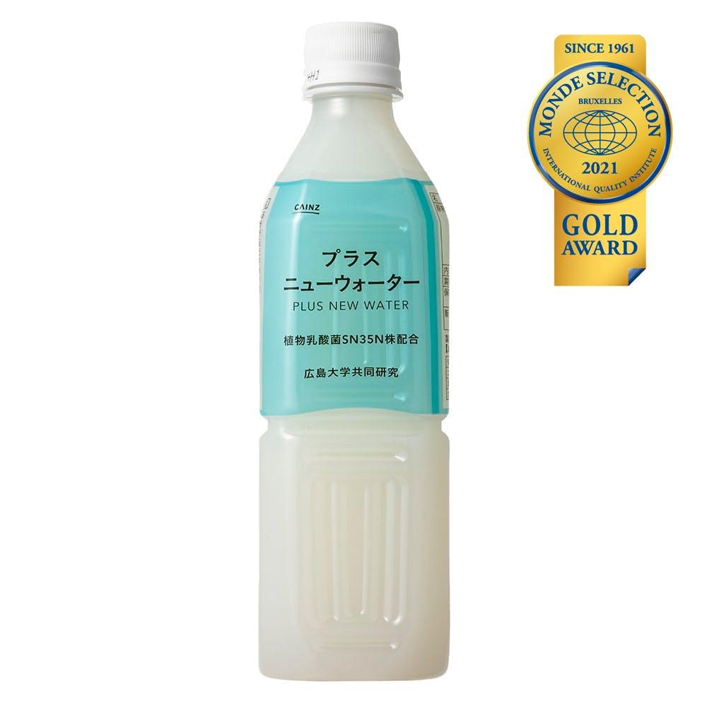 【ケース販売】プラスニューウォーター 植物乳酸菌SN35N株配合 500ml×24本, , product