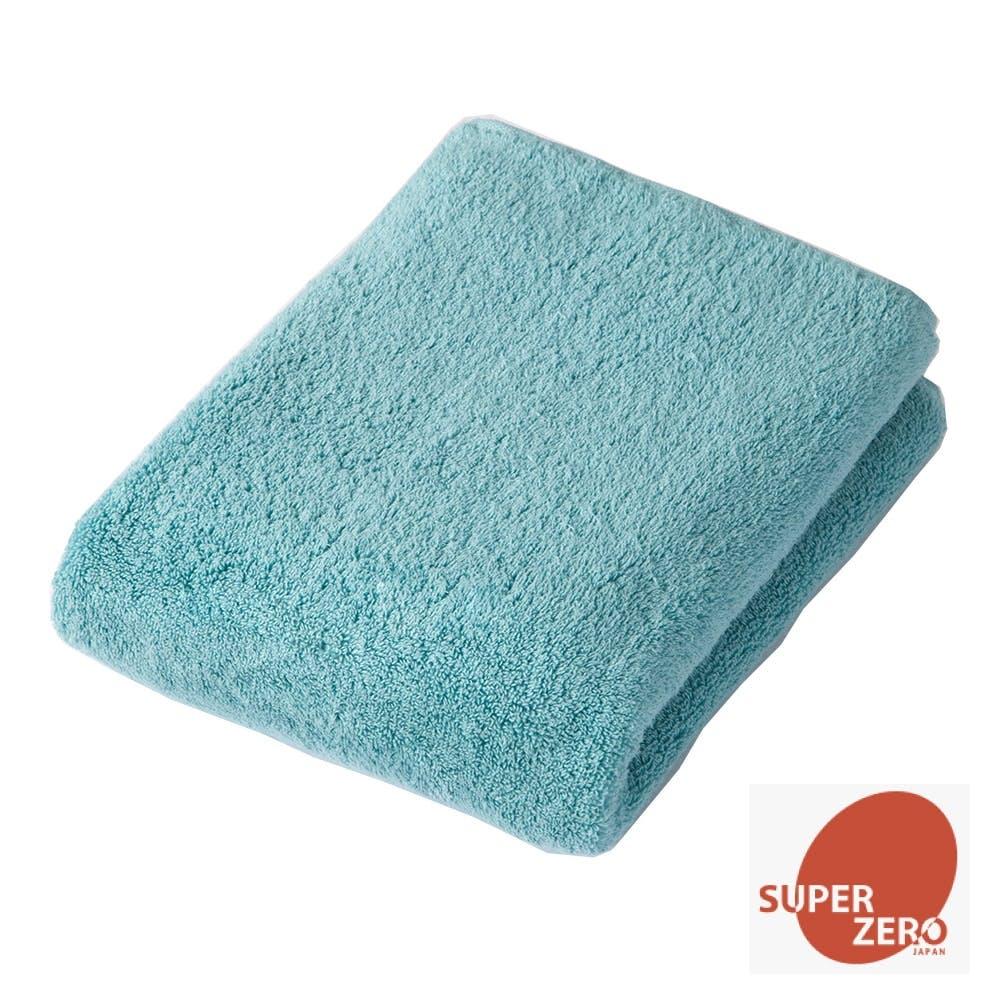 洗濯してもふんわり長持ちバスタオル ブルー, , product