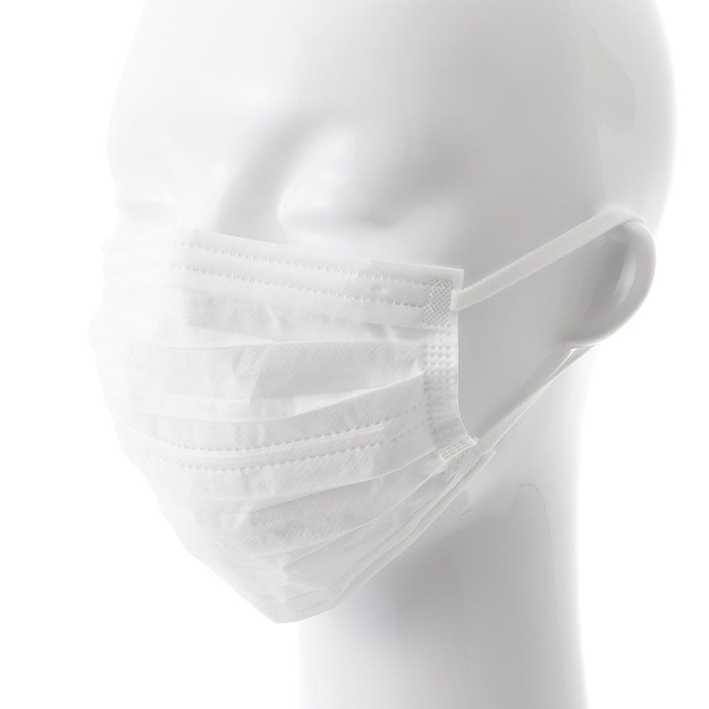 不織布 やわらかふわふわダブルワイヤーマスク 普通サイズ 30枚, , product