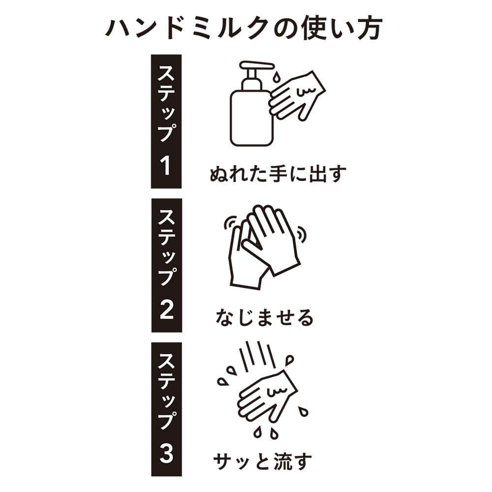 濡れた手でも使えるハンドミルク 400ml, , product