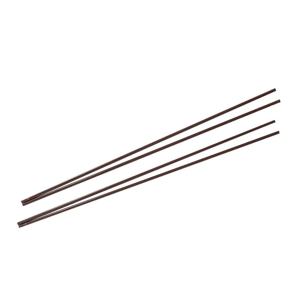 【2021春夏】スタンドシェードになる縦支柱パイプ ブラウン 1.6×270cm 2本入, , product