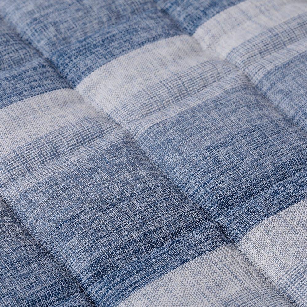 【2021春夏】&Pet キルトラグ 葵ブルー 185×185cm, , product