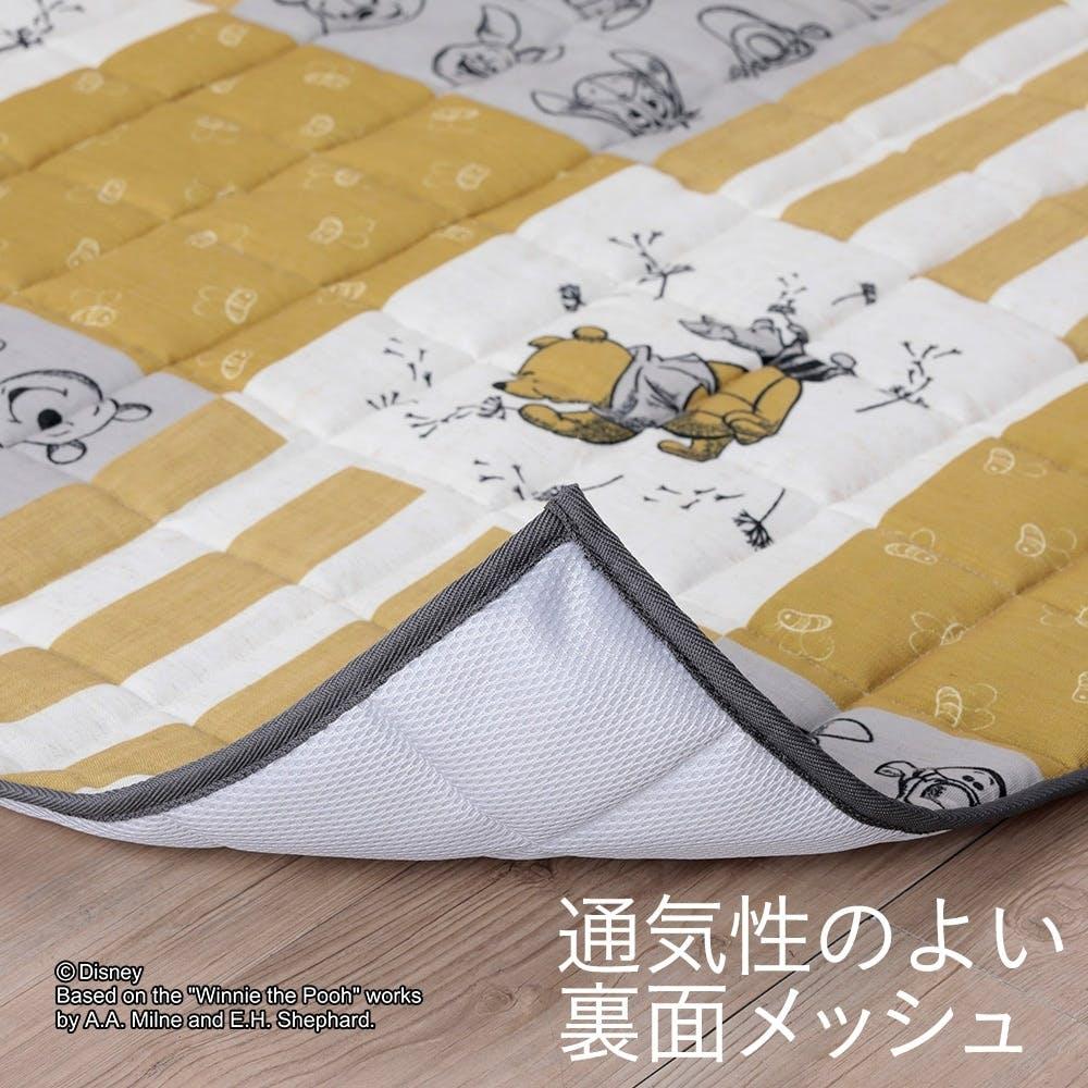 【数量限定・2021春夏】&Pet キルトラグ くまのぷーさん 185×185cm, , product