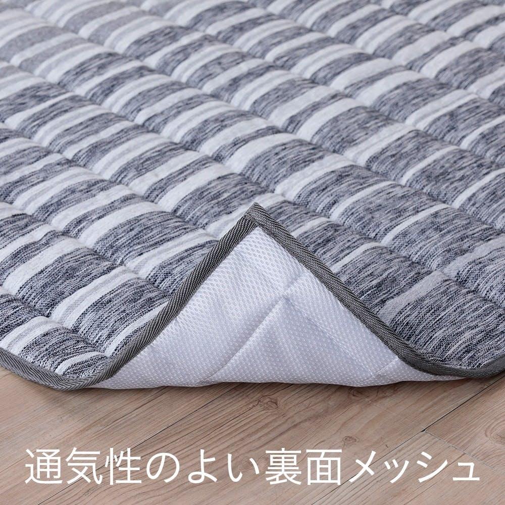 【店舗限定・2021春夏】&Pet キルトラグ ブラウグレー 185×185cm, , product