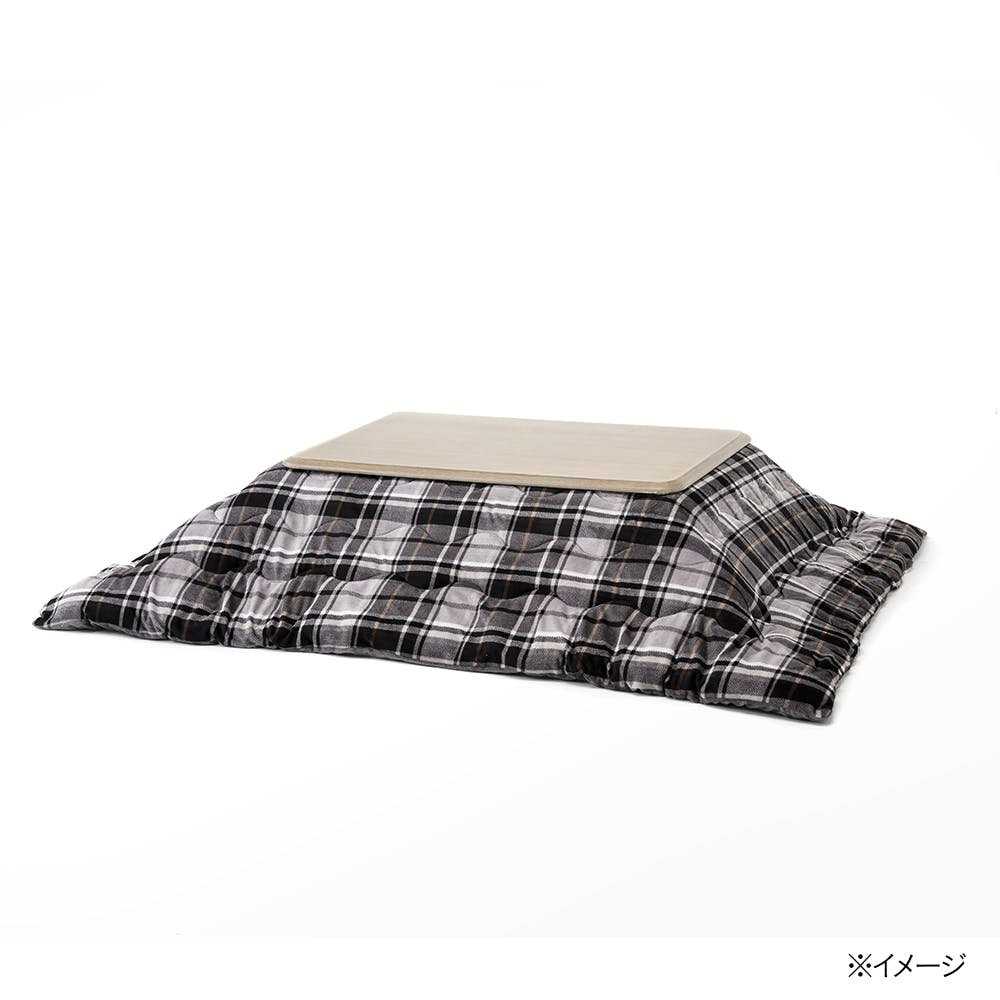 【2021秋冬】洗えるこたつ掛ふとん シュニーチェック 長方形 190×240cm, , product