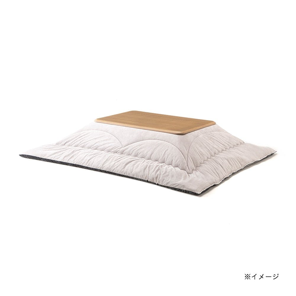 【2021秋冬】&Pet 洗えるこたつ掛ふとん ネージュ グレー 長方形 190×240cm, , product