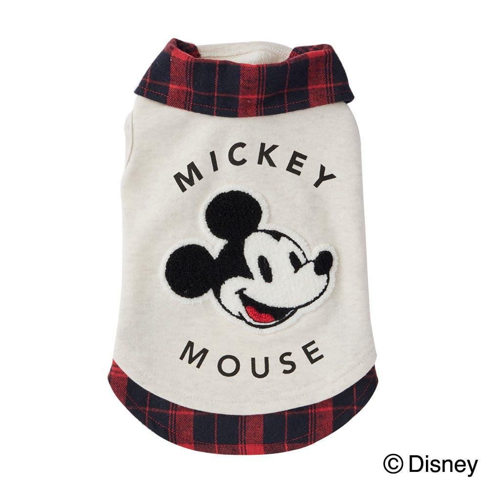 【2021秋冬】重ね着風トレーナー ミッキーマウス MDサイズ ペット服(犬の服), , product