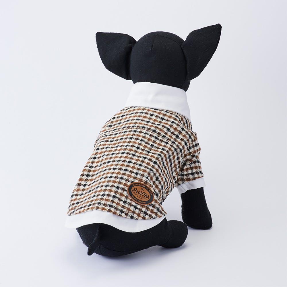 【2021秋冬】ガンクラブチェックプルオーバー Mサイズ ペット服(犬の服), , product