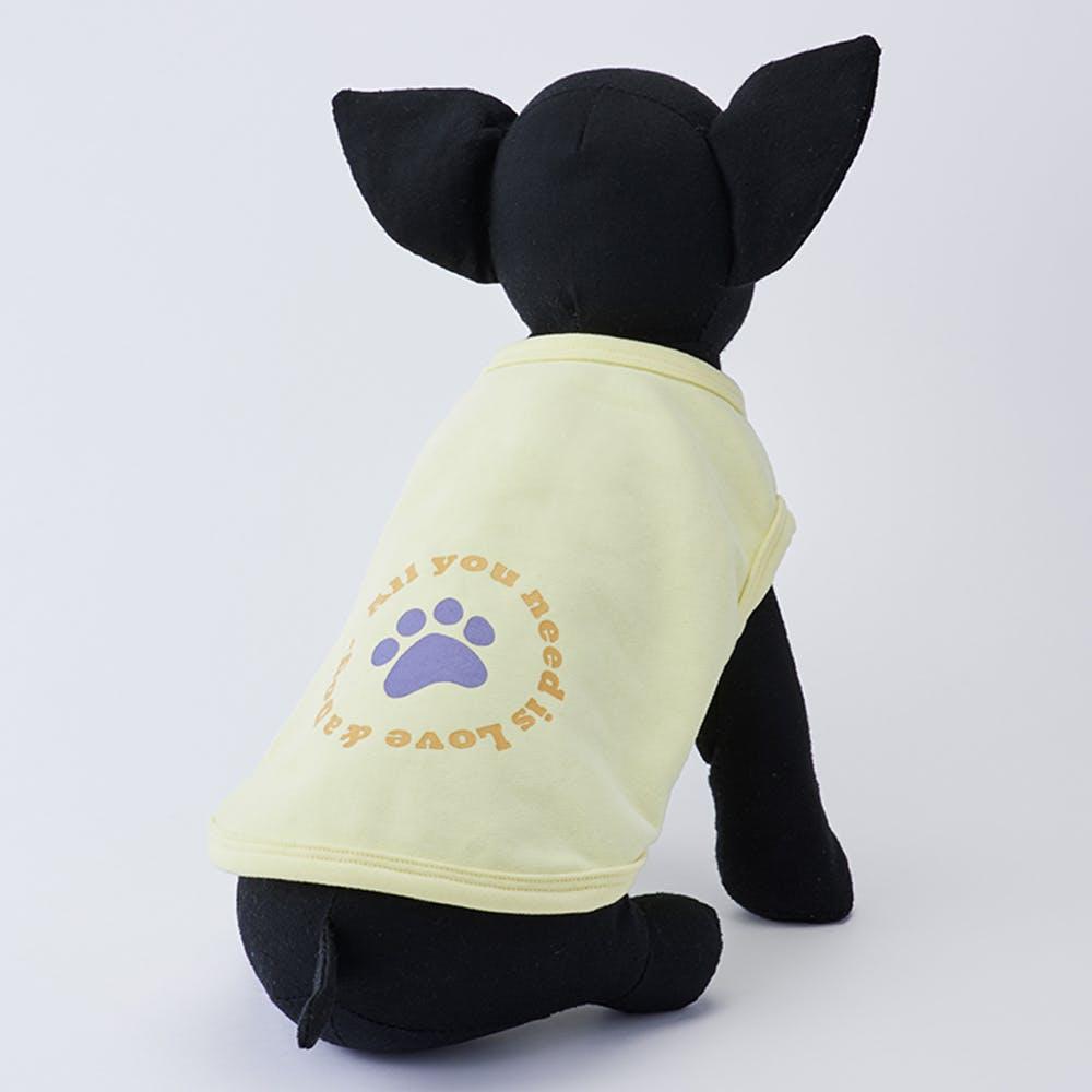 【2021秋冬】プリントトレーナー イエロー Sサイズ ペット服(犬の服), , product