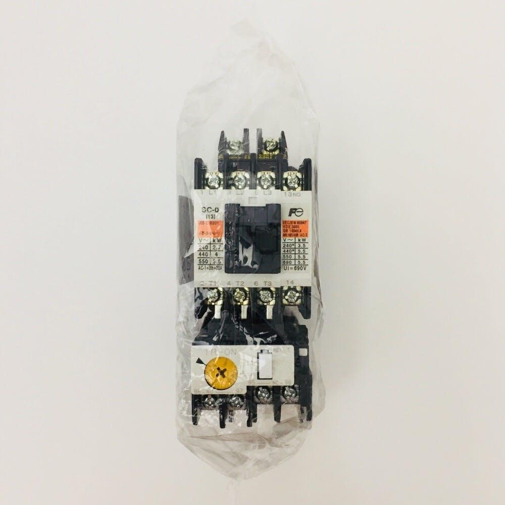 電磁開閉器AC200V SW-0 1.5KW 1a, , product