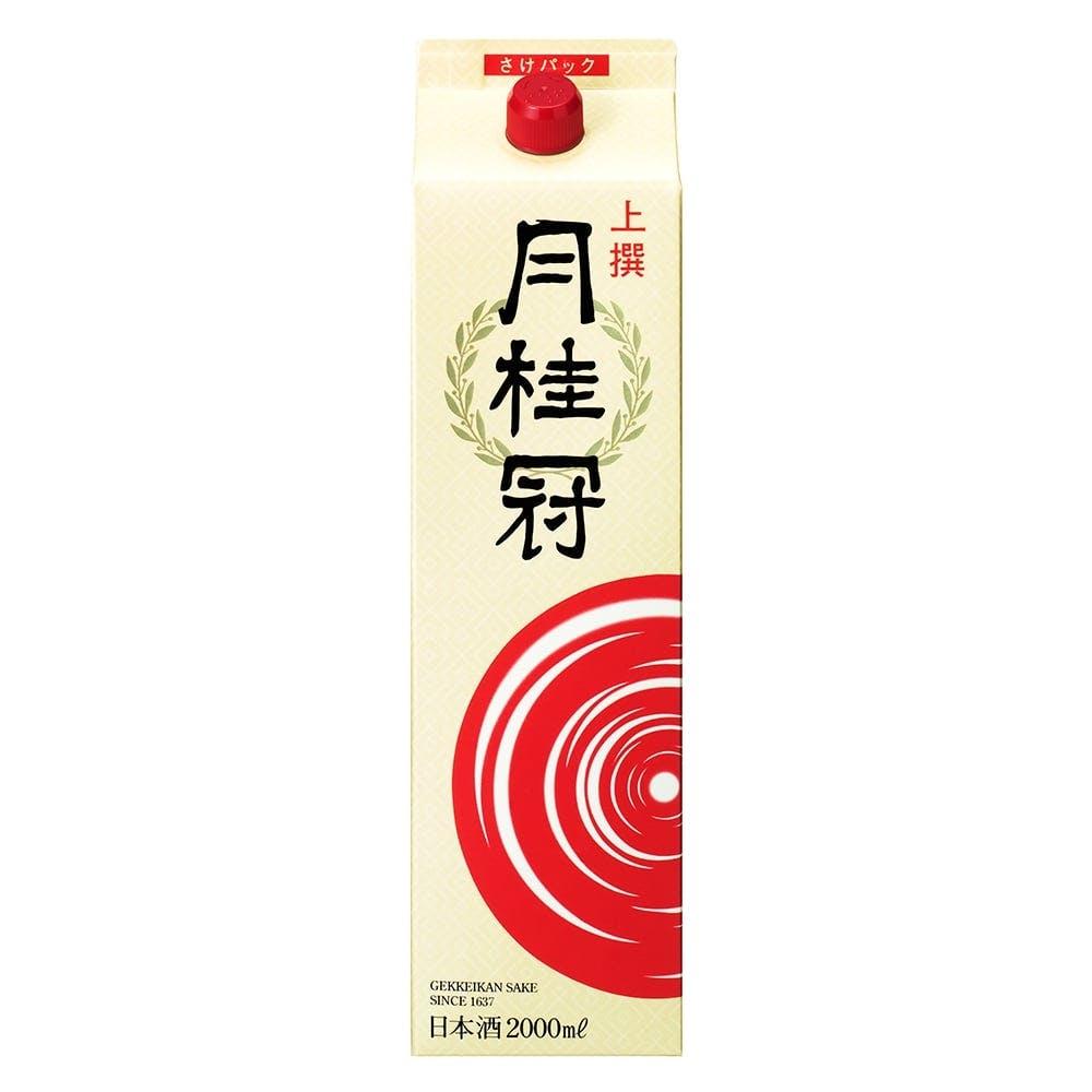 上撰 月桂冠 さけパック 2000ml【別送品】, , product