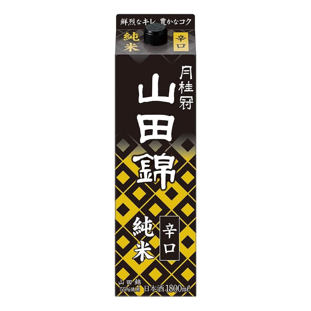 月桂冠 純米 山田錦 パック 1800ml【別送品】, , product