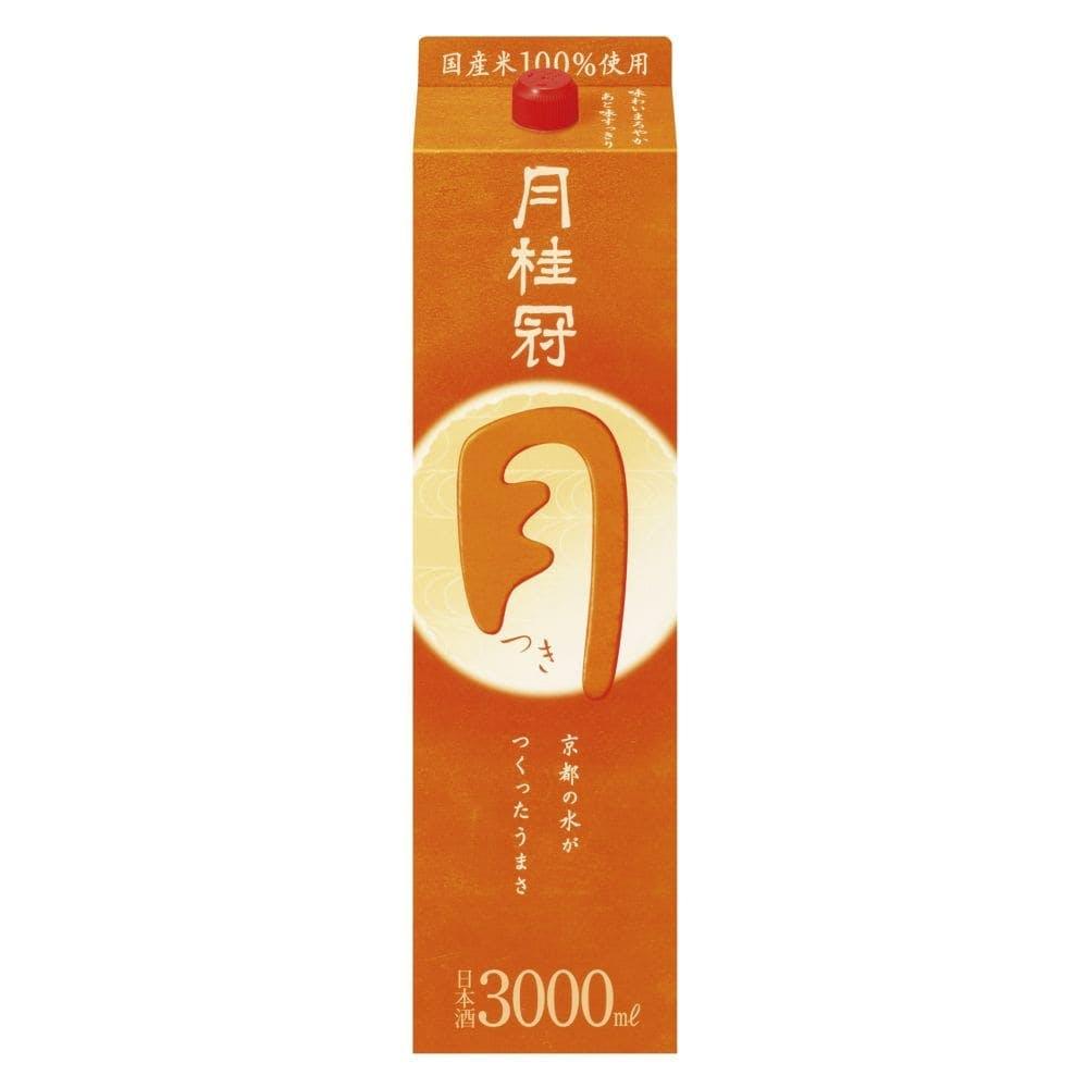 月桂冠 つき パック 3000ml【別送品】, , product