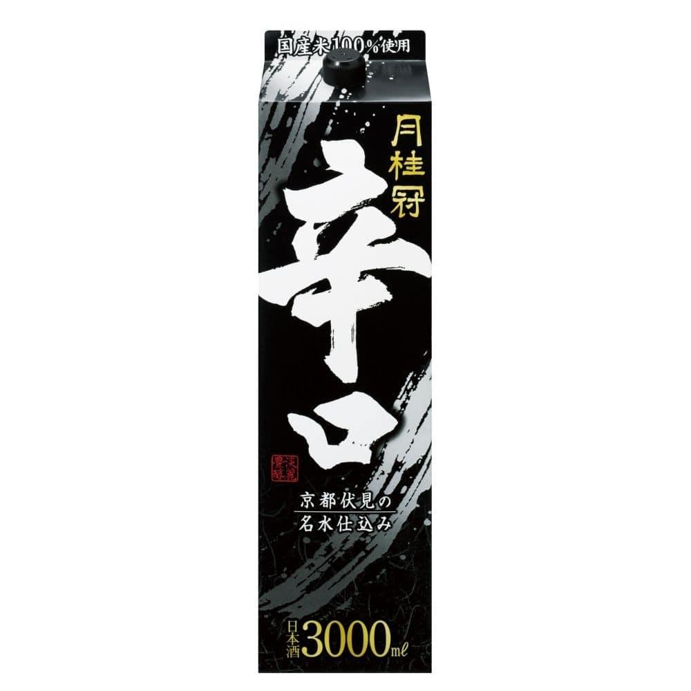 月桂冠 辛口 パック 3000ml【別送品】, , product